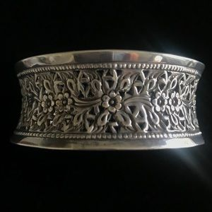 Jewelry - Artisan hand crafted sterling  cuff bracelet